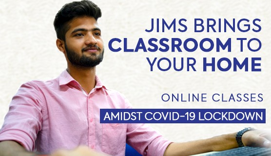 JIMS Rohini Brings Classroom to your Home, Online Classes Amidst covid-19 lockdown