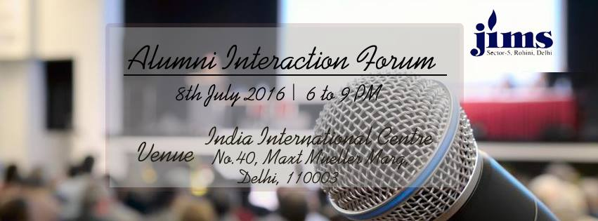Alumni Interaction Forum Series - VII