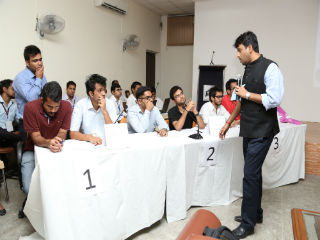 JIMS organized Inter-College Business Quiz Contest 2014