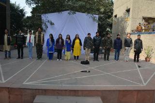 BBA & BCA Students JIMS Rohini Sector-5 Delhi