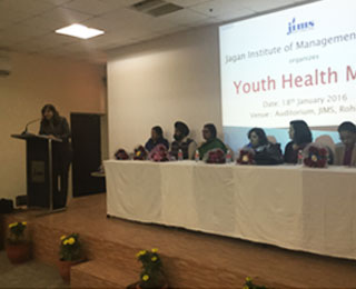 Youth Health Mela for post-graduate students of IT department