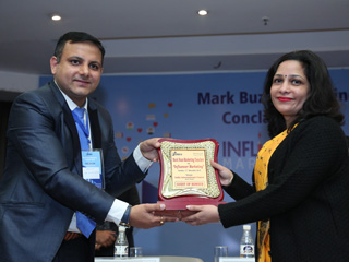 MarkBuzz Marketing Conclave 2018 on Influencer Marketing at JIMS