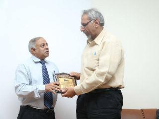 Dr. Ashok Bhagat Dean IB JIMS