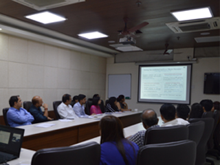 JIMS Rohini Internal Quality Assurance Cell organised FDP on Qualitative Research and Problematizing your Research