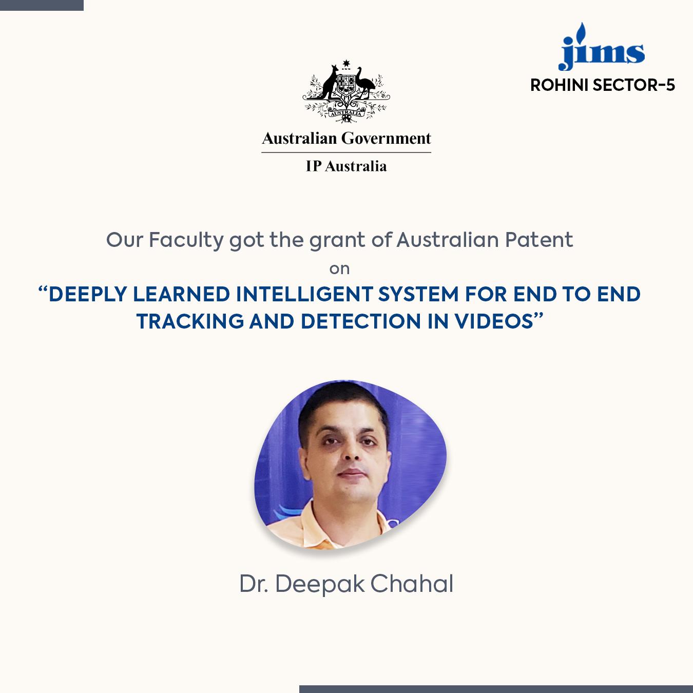 Dr. Deepak Chahal JIMS Rohini