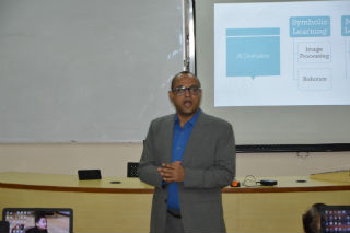 JIMS Rohini organised Guest Lecture on ARTIFICIAL INTELLIGENCE AND ITS IMPACT ON FINANCIAL SERVICES