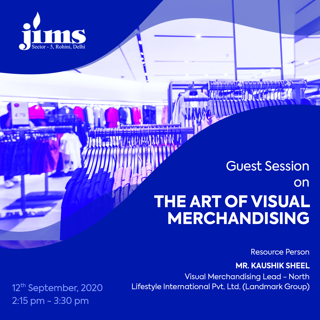 JIMS Guest Lecture on The Art of Visual Merchandising