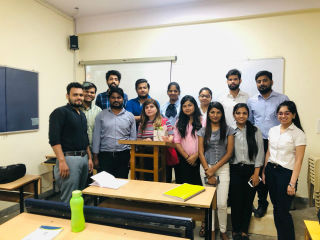 JIMS Rohini Organising Guest Lecture on Financial Risk Management