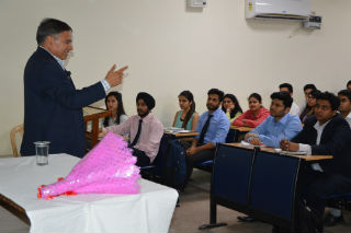 Guest Lecture on Functioning, Challenges & Career Opportunities in Treasury