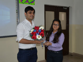 JIMS Rohini organised Guest Session on Skillset Required to Meet Expectations of Retail Industry