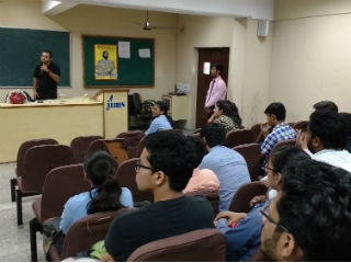 Guest Lecture by Mr. John Sarkar, Special correspondent, Times of India at JIMS Rohini Delhi