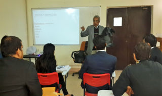 ?Guest Lecture on Footwear & Leather Retail- PGDM-RM