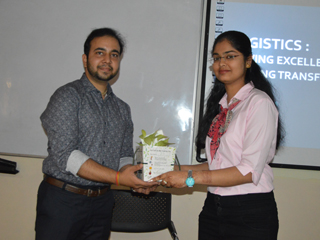 GUEST LECTURE on Logistics   And its Transformation