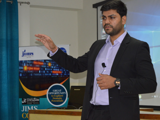 Alumni Interaction on Placement Aspects by Mr. Abhimanyu Shandilya