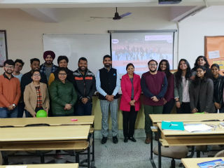 JIMS Rohini organised a guest lecture on 'Importance of Team Work in Organisation' for PGDM Batch (2018-20)