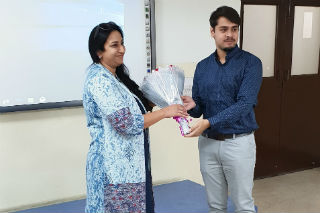 JIMS Rohini organised Guest Lecture on Location Matters-The Importance of Retail