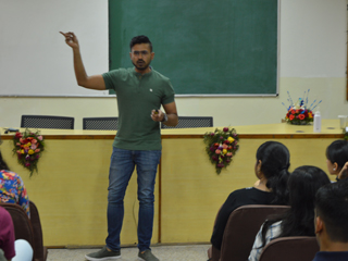 JIMS Rohini organised Guest lecture on Becoming Future Ready:Human 5.0