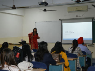 JIMS Rohini organised a guest lecture on 'Understanding Nuances of Job Analysis' for PGDM students