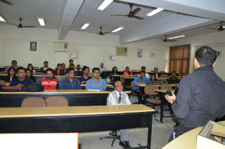 JIMS organized Guest Lecture by Mr. Abhinav Sharma at JIMS Rohini Sector-5 Delhi