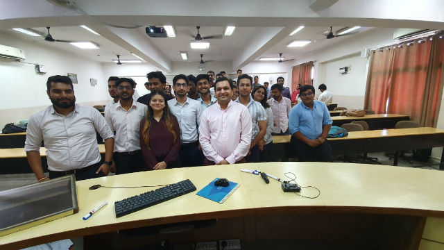 JIMS Rohini organised Guest Lecture on Export/Import Fuelled by Technology