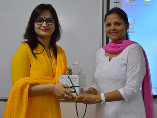 JIMS Rohini organised Guest lecture on How positivity effects communication