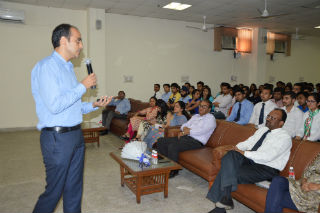 JIMS organized Guest Lecture by Mr. Shashwat Sharma, Category Head, Hindustan Unilever