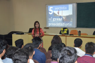 Guest Lecture on 5 Secrets of Great Presentation