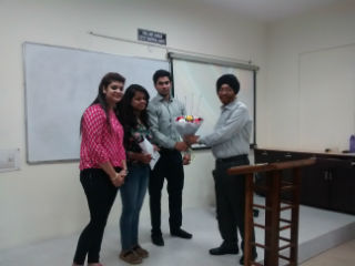 Guest Lecture on International Manager Challenges & Opportunities