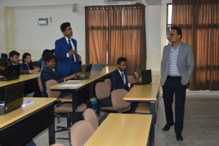 A special Session on Thinking towards European Business Integration Model was delivered by Mr. Manish Gupta (Chairman, JIMS Rohini) for PGDM-International Business students on February 1, 2019