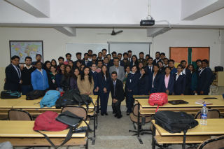 PGDM-International Business students at JIMS