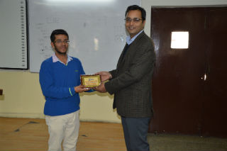 IP department of JIMS organized an alumni interaction session for BCA 2nd year students.