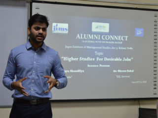 JIMS Rohini organised a guest lecture For BCA Students