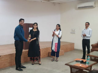 The event Battle it out organized by Literary Society, Expression