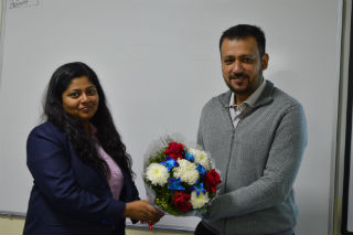 JIMS Rohini Organised a Guest Lecture on Career Options in Finance