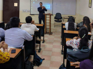 JIMS Rohini organized an interactive session for students of PGDM-Retail Management batch (2017-19)