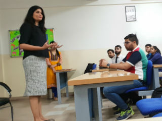 PGDM-Retail Management students at JIMS
