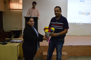 JIMS organized a guest lecture on Placement Activity