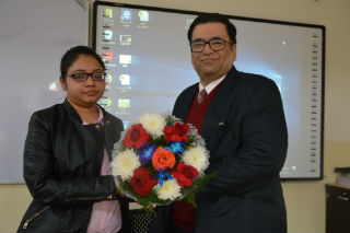JIMS Rohini organised Guest Session on Can we avoid sales in professional life?