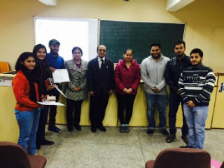 IB Club of JIMS organized an 'Extempore Competition'