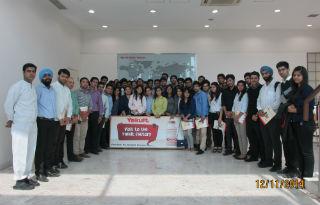 Industrial Visit at Yakult @ Sonepat, Haryana