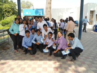 industrial trip to Mother Dairy manufacturing plant in Patparganj