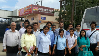 PGDM-RM students at Anmol Bakers in Greater Noida