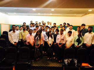 JIMS PGDM-RM students industrial visit to Atlas Cycles