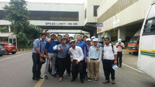 industrial plant visit to Maruti Suzuki factory in Gurgaon