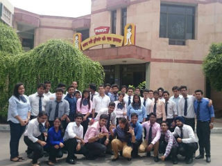 Industrial Visit of RM batch to Parle