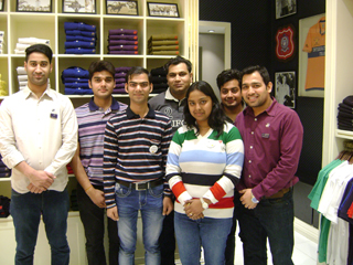 PGDM-RM students worked with Guess