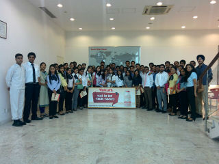 Industrial visit to YAKULT DANONE INDIA PVT LTD