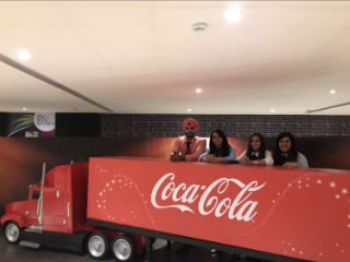 Industry visit at Coca Cola Hapiness Factory