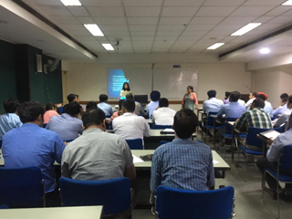 JIMS Rohini organized MDP on 'Developing Professionals for Leadership Roles'  for the Senior Managers, Punjab & Sind Bank at NIBSCOM, Noida