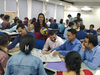JIMS Rohini organised MDP on 'Developing Professionals for Leadership Roles' for (P&S Bank)